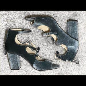 ZIGI SOHO Crushed Velvet Heels